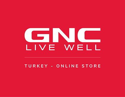 GNC Turkey E-commerce Design