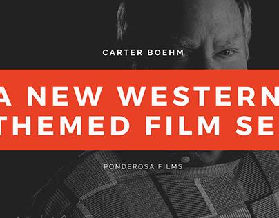 Carter Boehm | A New Western-Themed Film Set