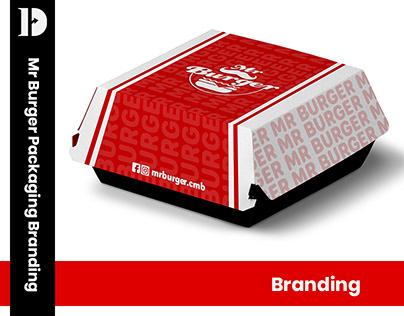Mr.Burger Packaging Branding