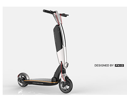 8-inch scooter design
