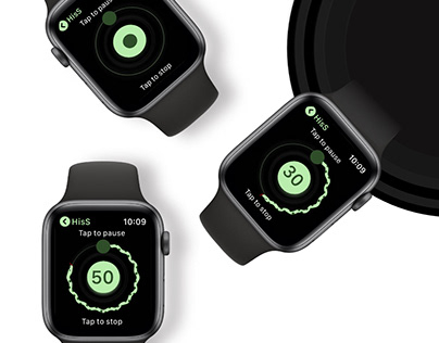 HisS An applewatch recording app