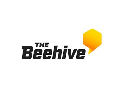 The Beehive Logo & Branding
