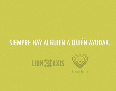Lion axis/ Lion heart programa de donaciones