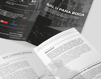 Bal u Pana Boga ▪ concert leaflet