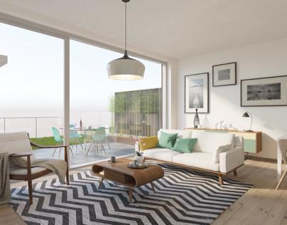 3D interior rendering inspiration