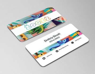 Business cards for ZOOZZ.org
