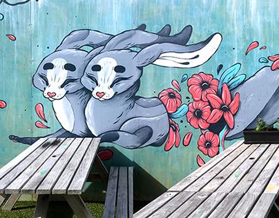 Springload Mural