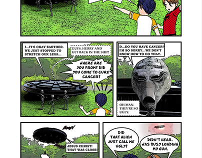One-Pager Manga