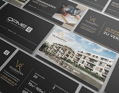 Entwicklung von Bauzäunen & Logo für ein Bauprojekt