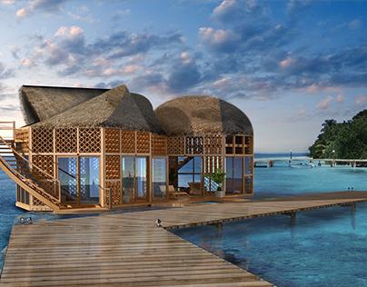 Maldives holiday lodgings