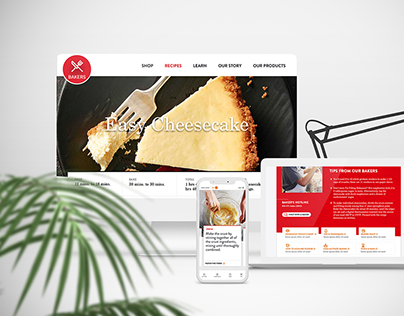 Recipe Detail Page Design