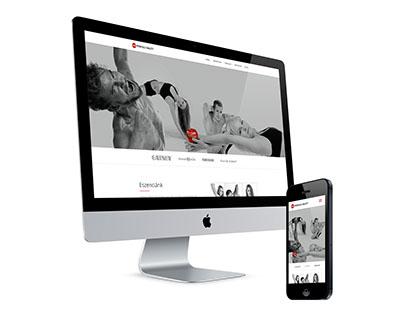 Miskolci balett - Responsive webdesign