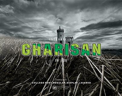 GHARISAN FONT