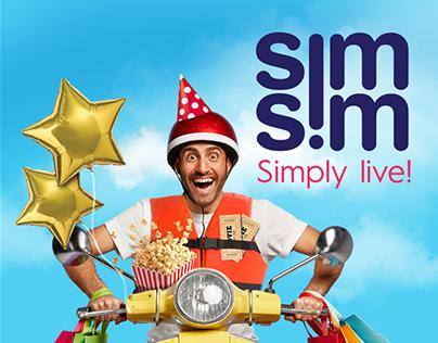 SimSim Rebranding + Campaign