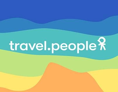 travel.people | Logotype | Identity | Naming