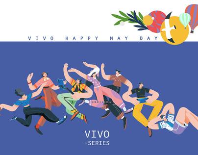 VIVO-SERIES MAY DAY 快乐五一劳动节
