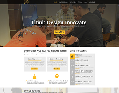 Product Innovation Website Design