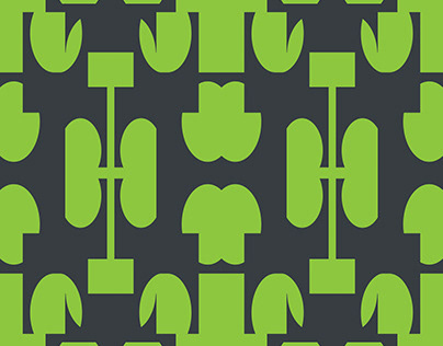 Free Illustrator Pattern - Section Arches