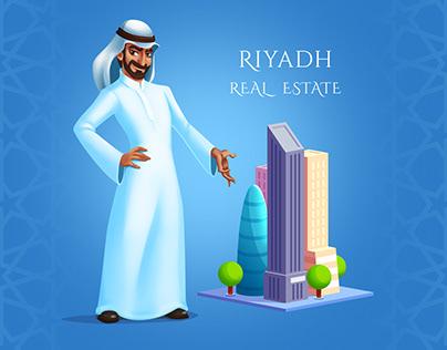 Saudi Businessman - Character desing