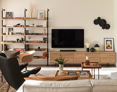 Urban Chic furniture collection in interior