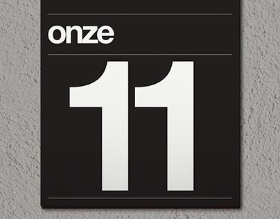 Typographical perpetual calendar