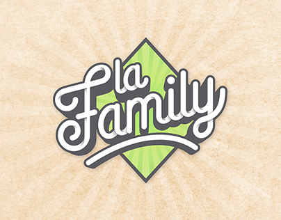 """Logo """"La Family"""""""