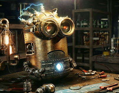 Steampunk Minion