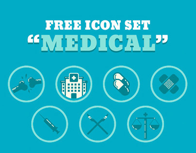 "free icon set ""medical"""