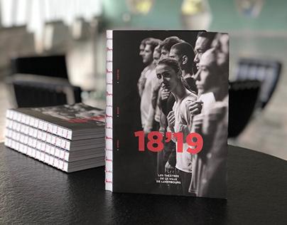 Theatre season 18'19 campagne & brochure