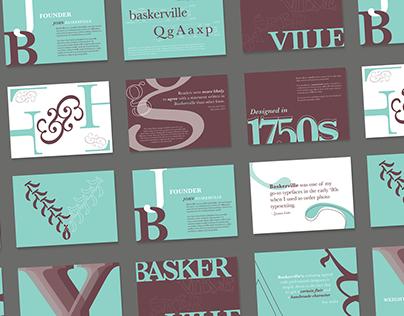 Basking in Baskerville | Typography