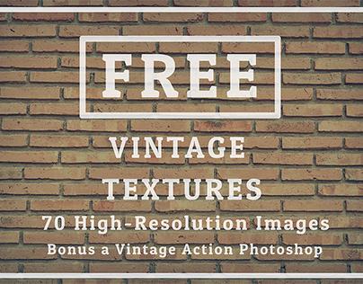 Freebie 70 Texture Background Vintage Tone