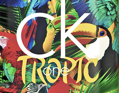 CK One Tropic Packaging