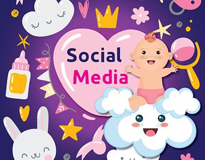 pregnancy social media designs