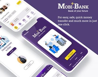 Mobi-Bank- UX Case Study