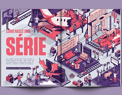 Como Nasce Uma Série (Superinteressante Magazine)
