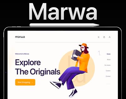 Marwa - Women Store Website
