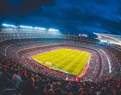 Camp Nou .. Wow View