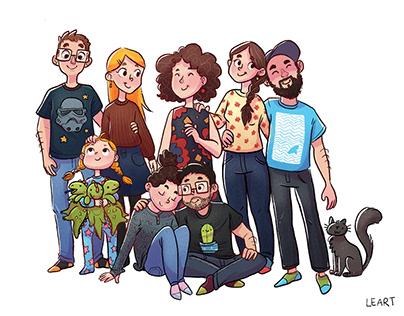 Family & Friends Portrait