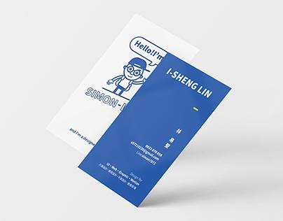 Business Card - Simon Design Studio