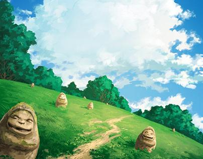 Ghibli book cover