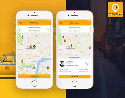 Taxi Mobile App Development