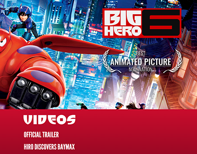 Big Hero 6 - For Your Consideration