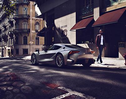 Toyota F1 Concept Car - Postproduction