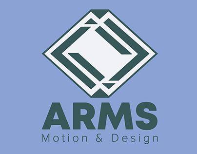 REDISEÑO DE LOGO ARMS MOTION & DESIGN