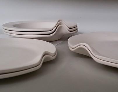 "Pratos ""TeiKaUei"" | ""TeiKaUei"" Plates"