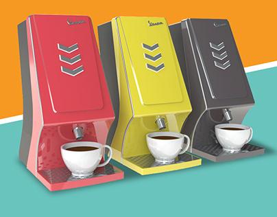Vespa Coffee Maker