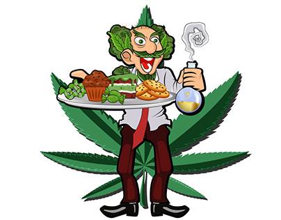 Mascot Proffesor Marijuana