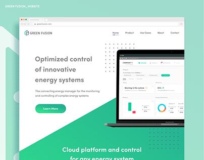 Green Fusion Website