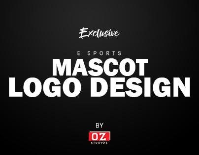 Mascot Logo Design E SPORTS