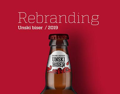 Unski Biser Beer Label Redesign